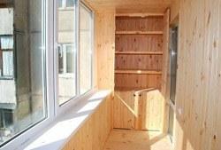 Отделка, ремонт, утепление, балконов и лоджий г. Иркутск